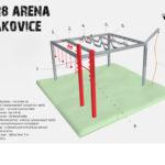 Rozšíření workout hřiště o prvky z překážkových závodů (OCR)
